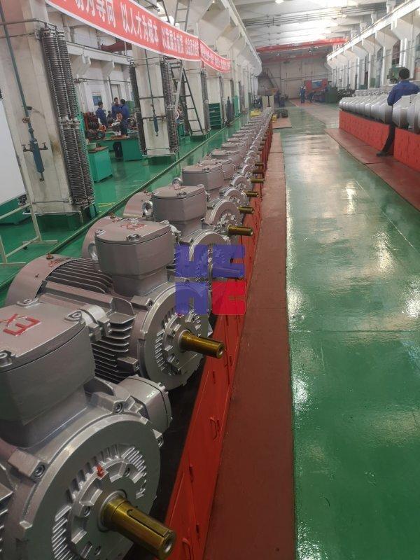 YBX3系列高效率隔爆型三相异步电动机(H80~H355)